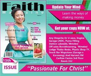 Faith Magazine 15th Issue