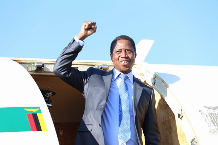 President Edgar Lungu is expected in Lesotho
