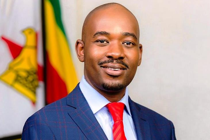 Chamisa appears before the Motlanthe Commission of Inquiry.