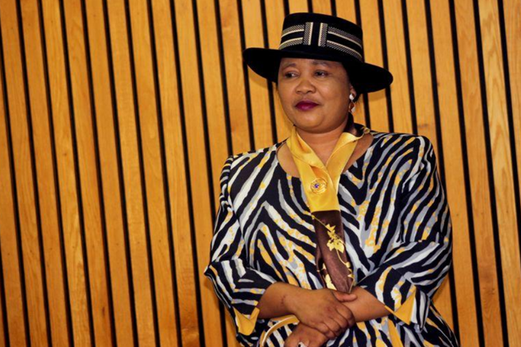 Police arrests Lesotho's Former First Lady in connection with murder.