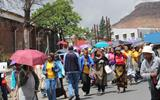 WORKERS UNIONS CONDEMN LESOTHO GOVERNMENT